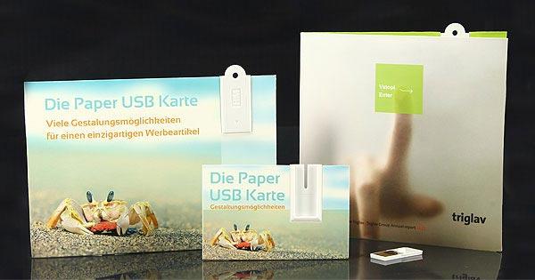 USB Papierkarten