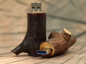 Natur USB Stick mit USB 3.0