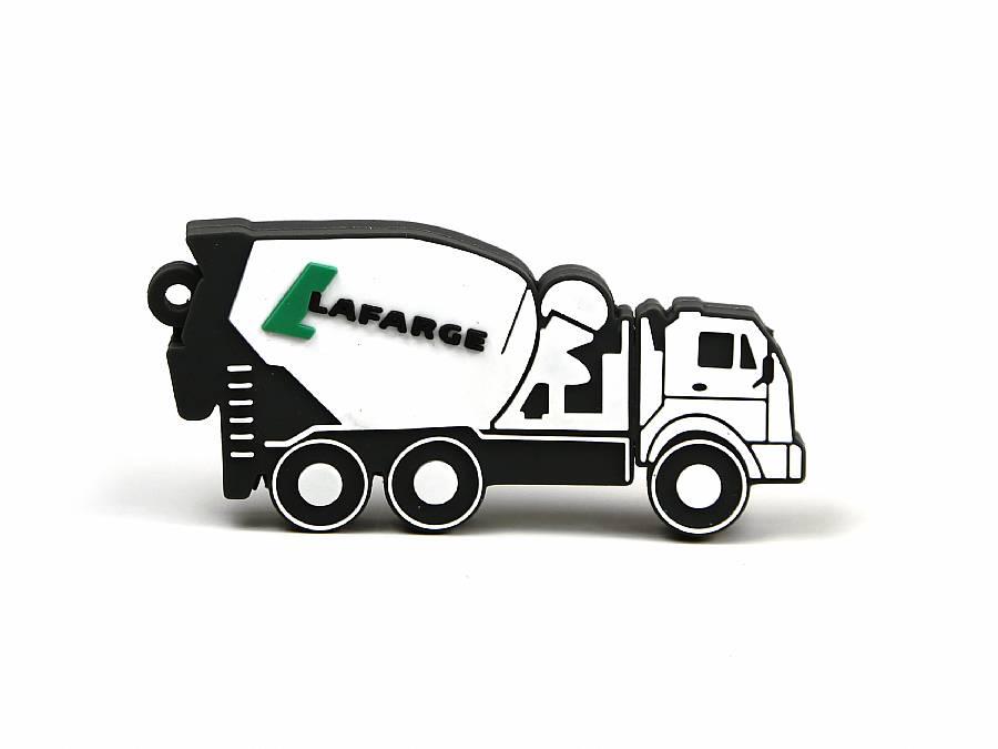 2d usb stick betonmischer flach mit logo