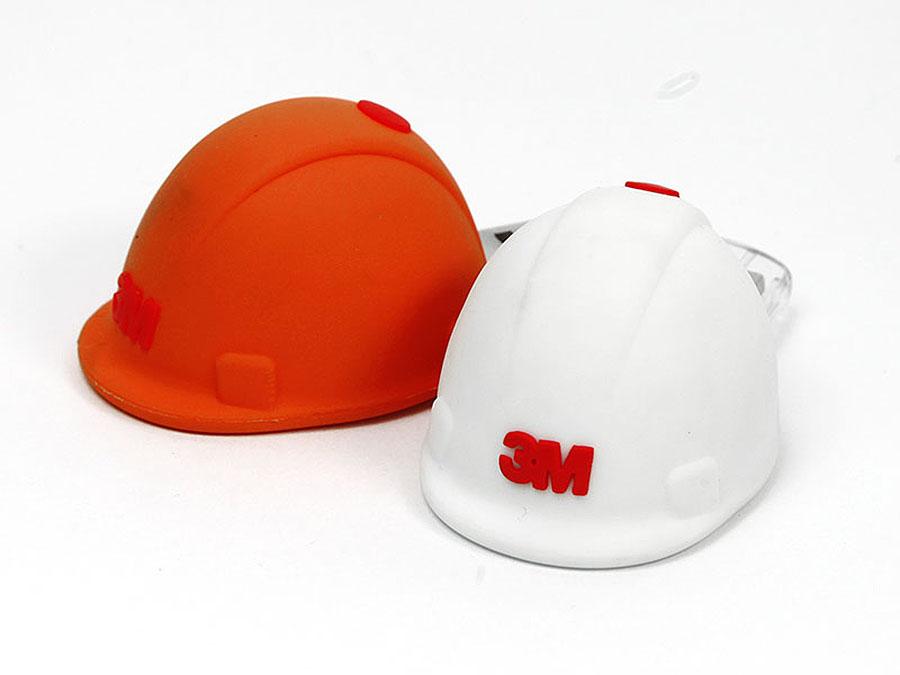 3M Bauhelm USB-Stick mit Logo