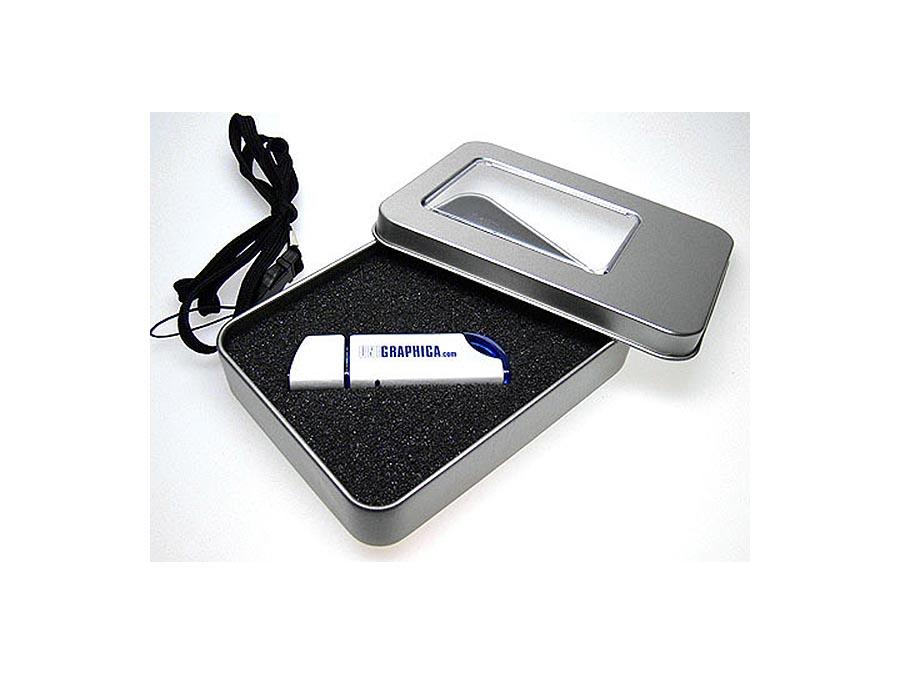 ALuminium USB-Stick in Metall-Dose