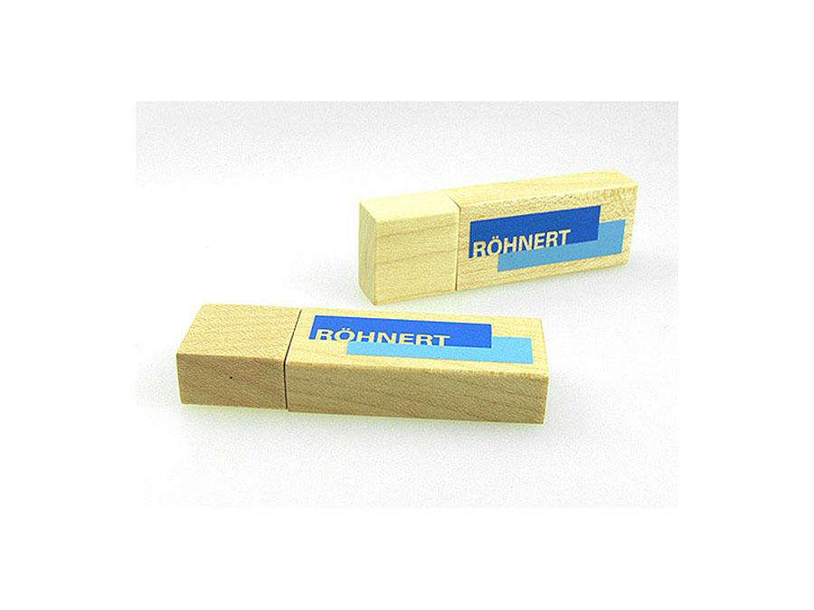 Böhnert Holz USB-Stick mit Logo bedrucken