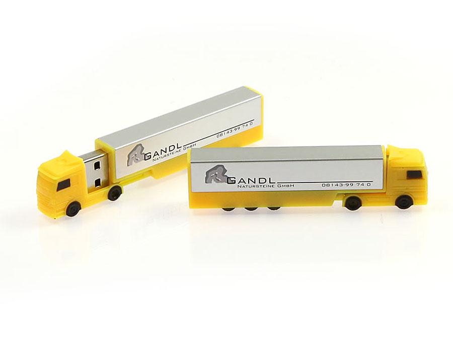 Gelber Truck USB-Stick