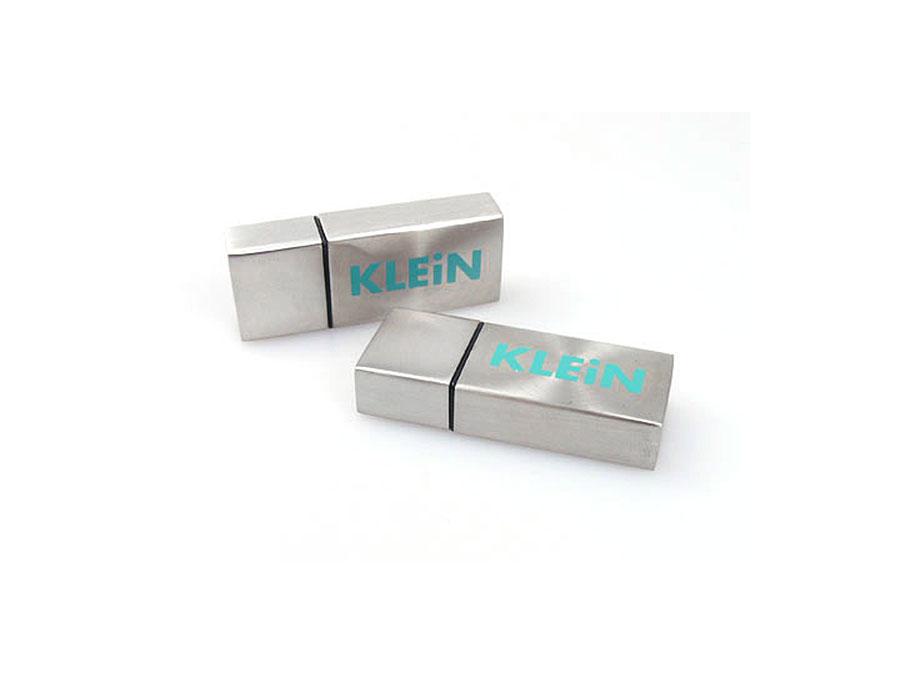 Metall USB-Stick mit Aufdruck des Logos
