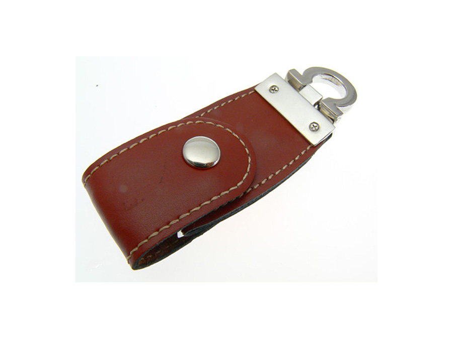 LEDER USB STICK mit Lederprägung für Werbemittelhändler