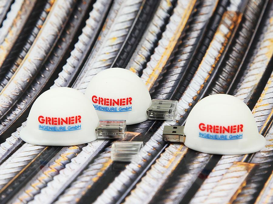 USB-Bauheim Werbegeschenk Ingeneurbüro