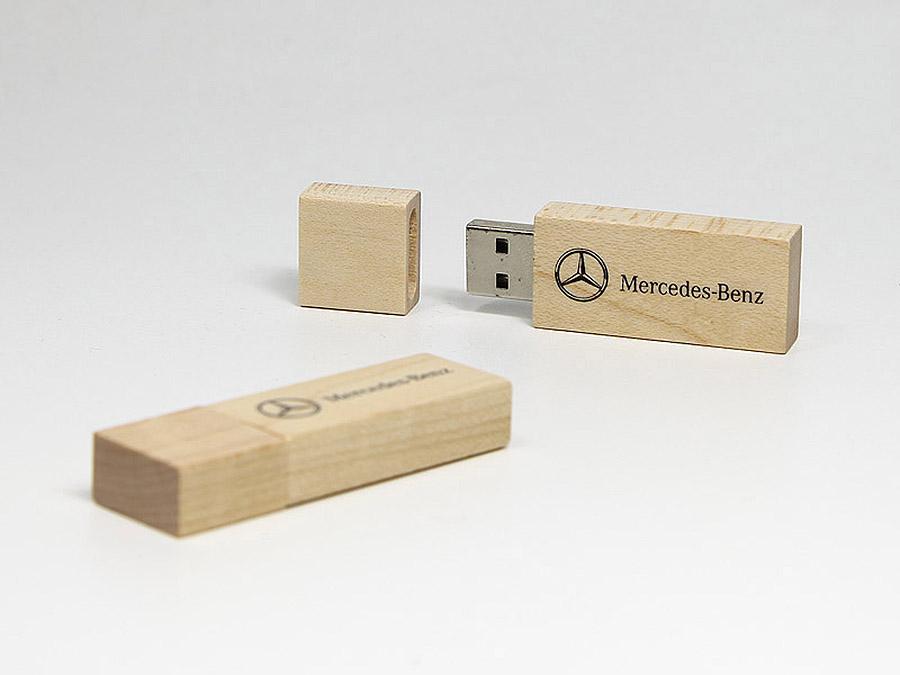 Mercedes Benz USB Stick mit Logo bedrucken