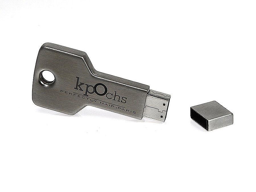 USB-Stick Schlüssel mit Aufdruck als Werbegeschenk