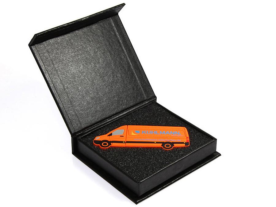 Transporter USB-Stick mit Geschenkverpackung