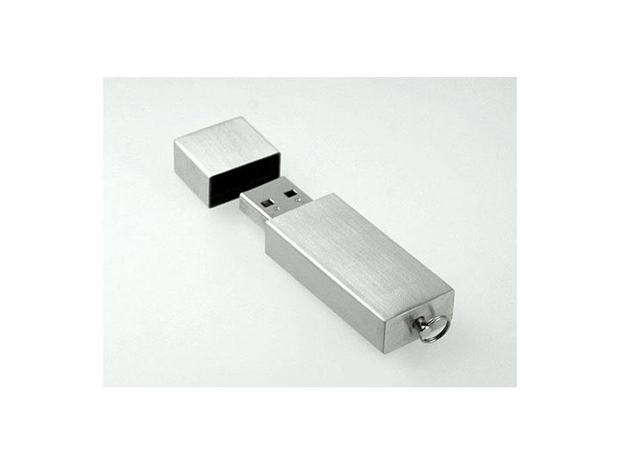 USB Stick mit deckel und Logodruck oder Logogravur mit Öse