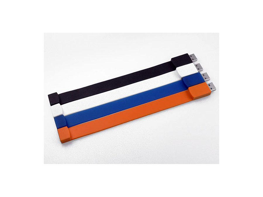 Flexibles Gummi Silikon USB Stick Armband