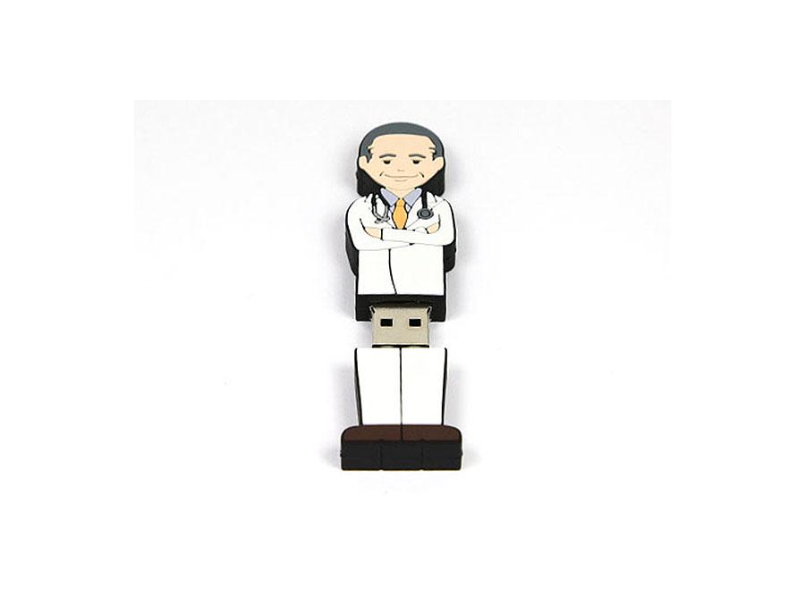 USB-Folks Arzt Figur