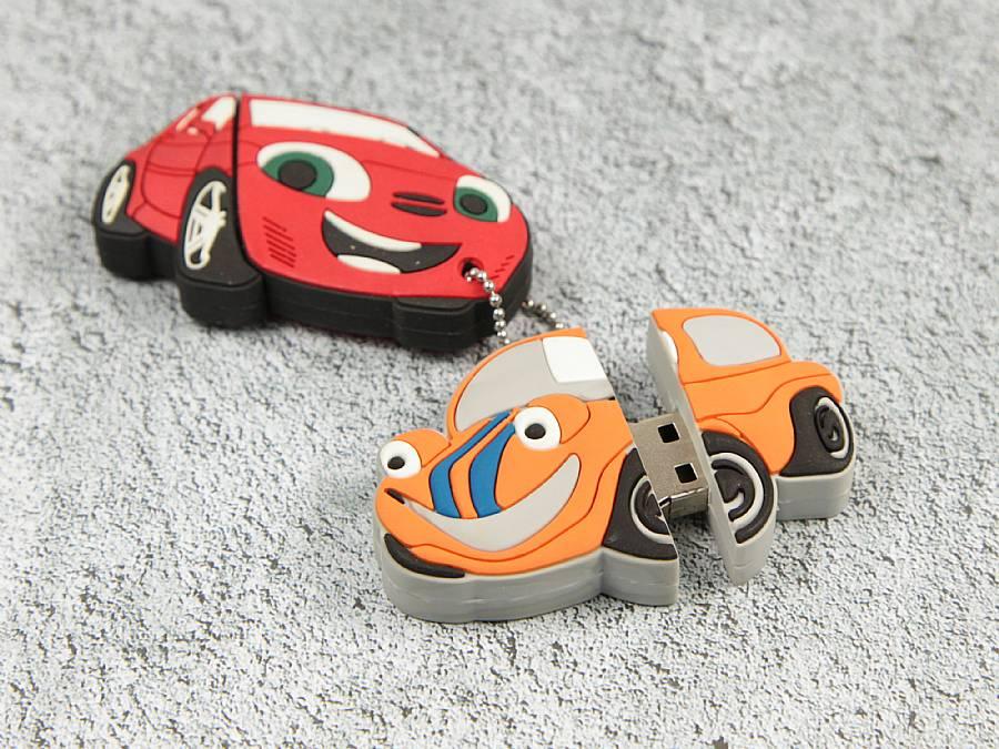 auto maskottchen als werbegeschenk usb sticks
