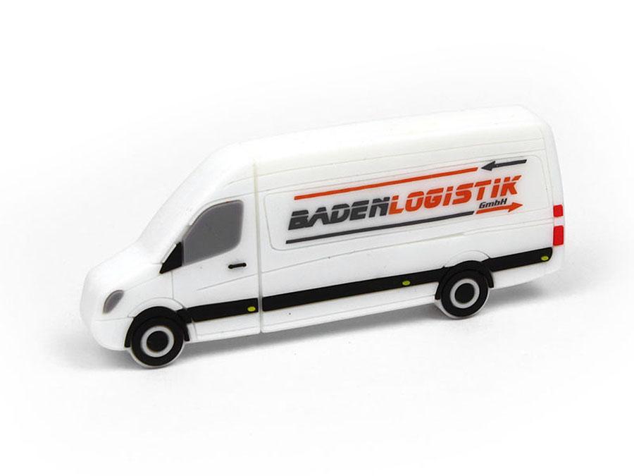 Badenlogisitk Transporter Sprinter USB-Stick mit Logo bedruckt