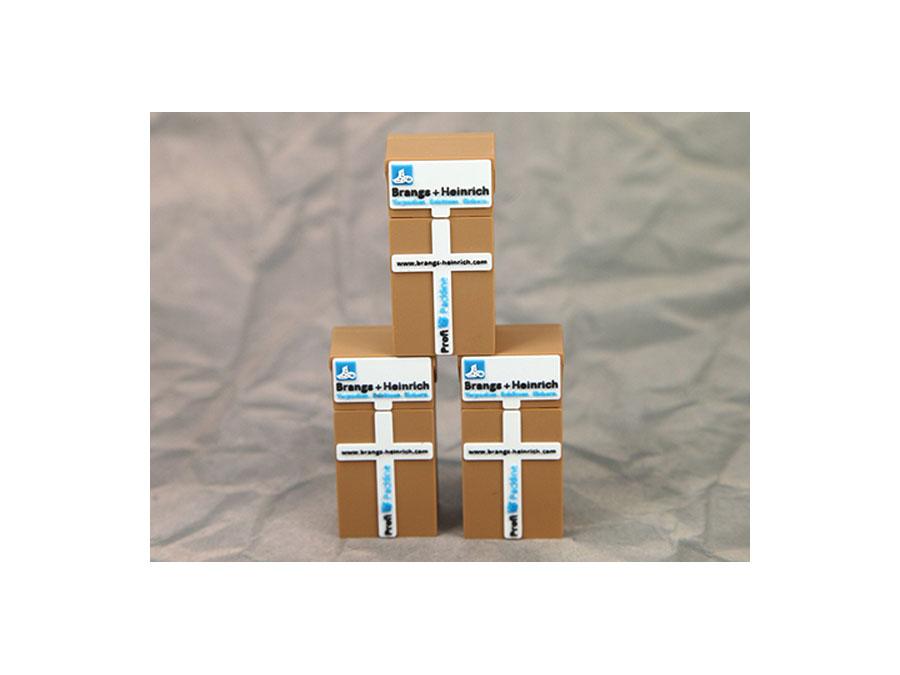 Brangs + Heinrich Slimpaket mit Packband