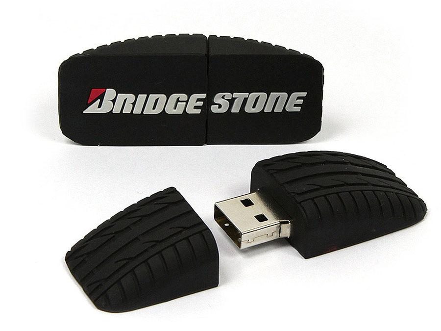 Bridgestone Reifen USB-Stick mit Logo und Profil