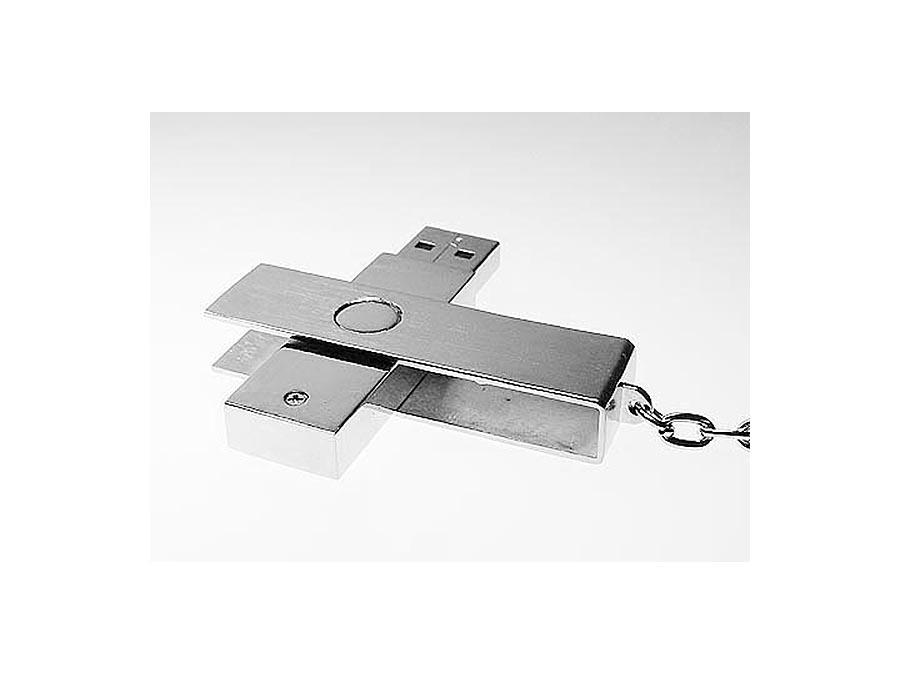 Bügel aus Metall mit gebürsteter Oberfläche zum bedrucken und gravieren