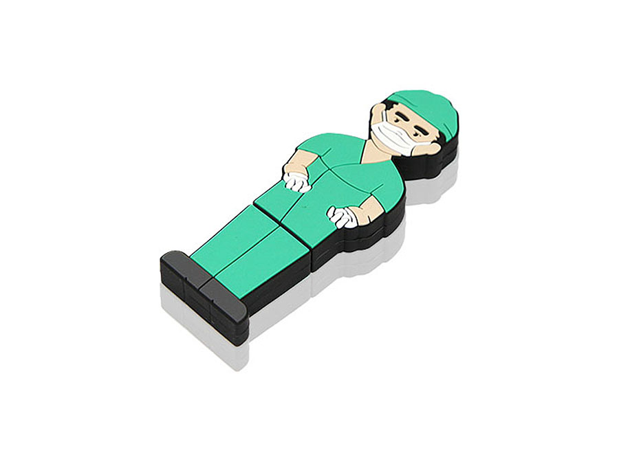 USB Stick Chirurg mit Branding individualisierbar mit Logo