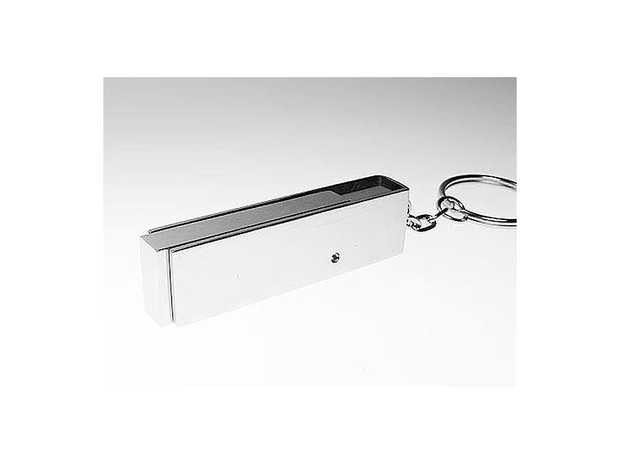 Drehbarer Metall USB-Stick mit Schlüsselring