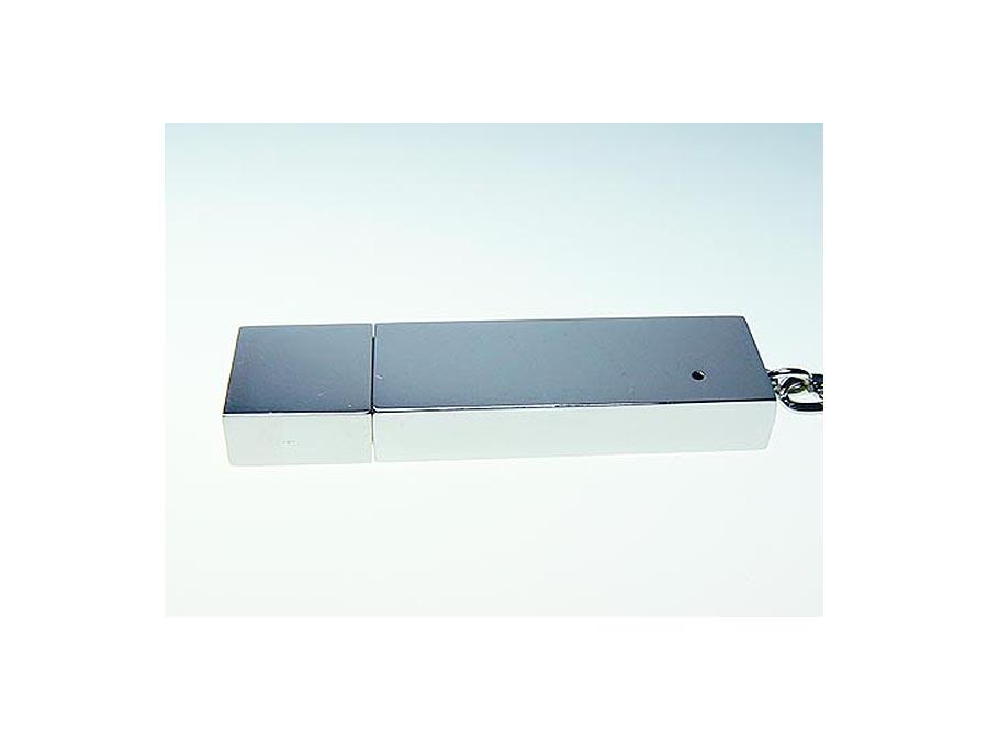 eckiger USB-Stick mit verpsiegelter Oberfläche