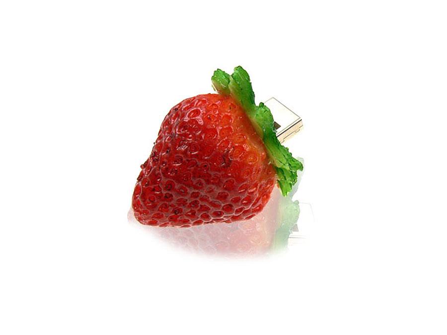Erdbeere USB-Stick