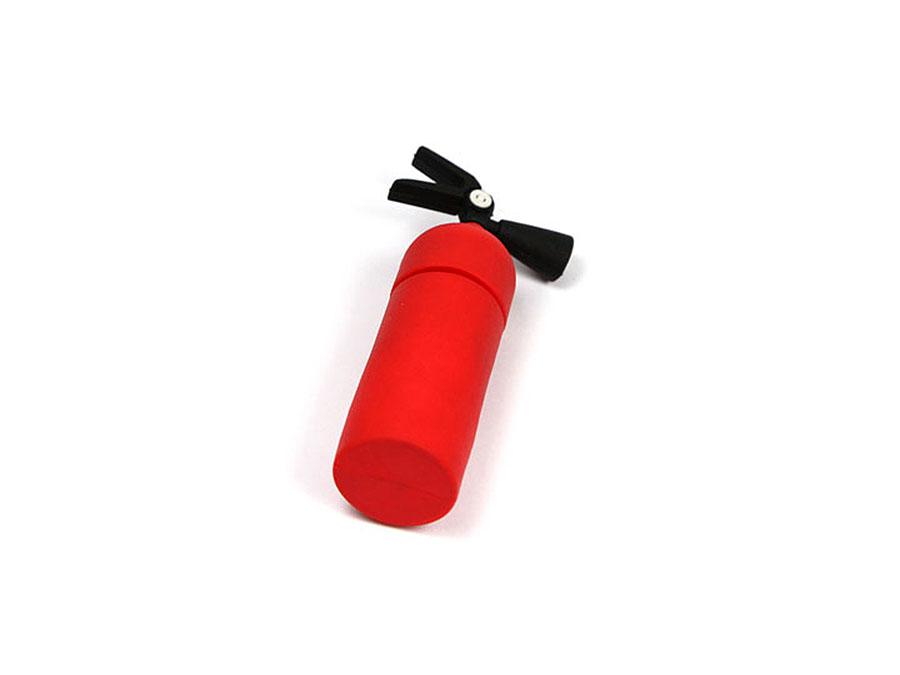 Individueller Feuerlöscher mit Logo