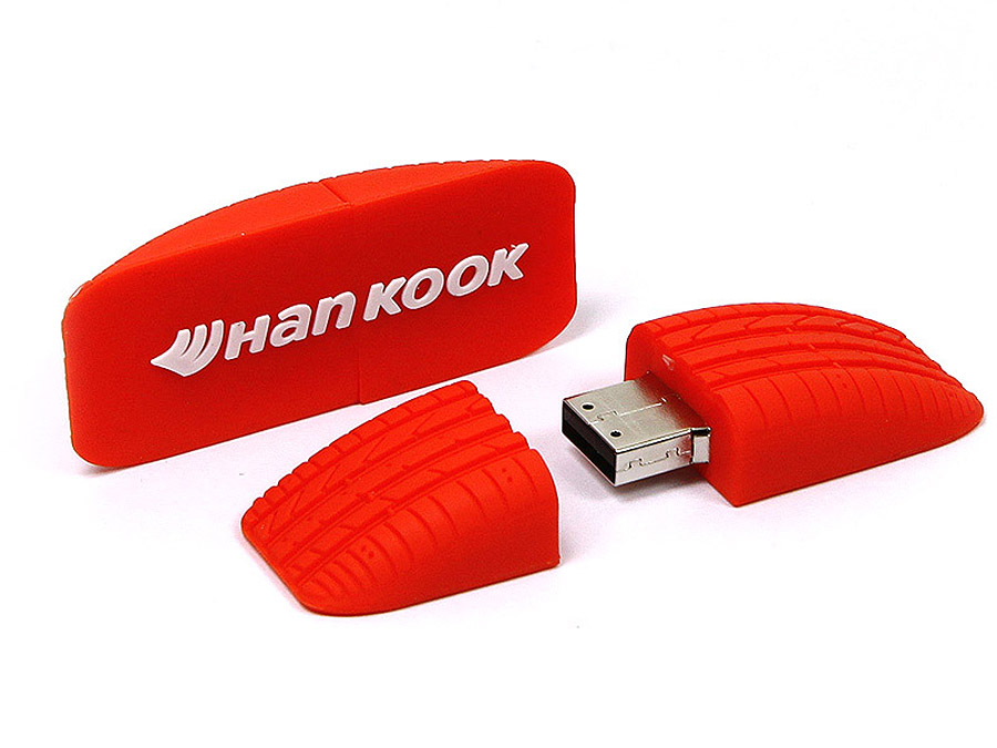 Hankook Reifen USB-Stick mit individuellem Profil