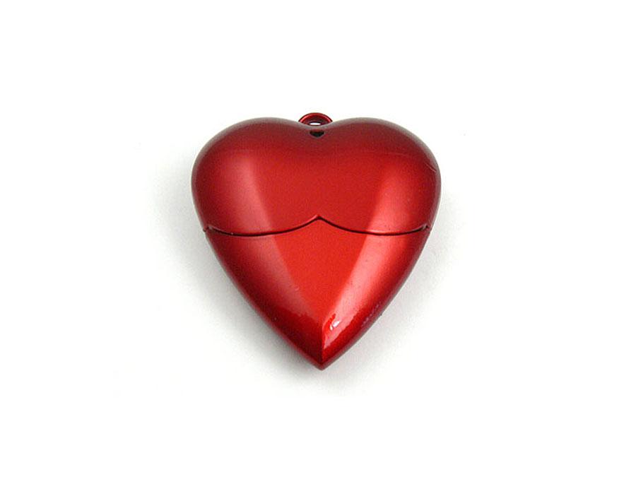 Romantisches Liebes Herz USB-Stick