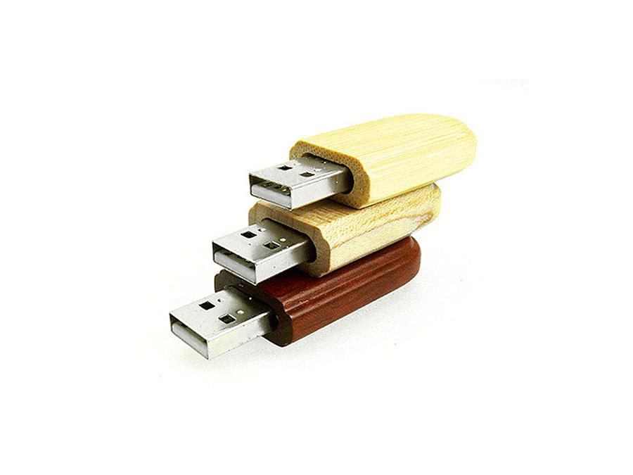 Holz USB-Stick in veschiedenen Farben mit Logo bedrucken