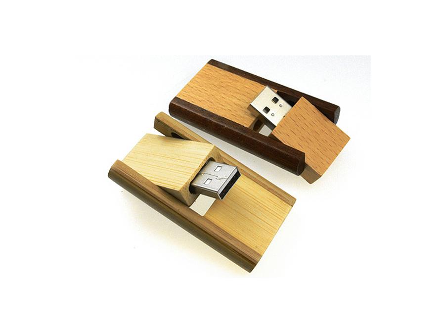 Holz USB Stick mit Logo für den Wiederverkauf