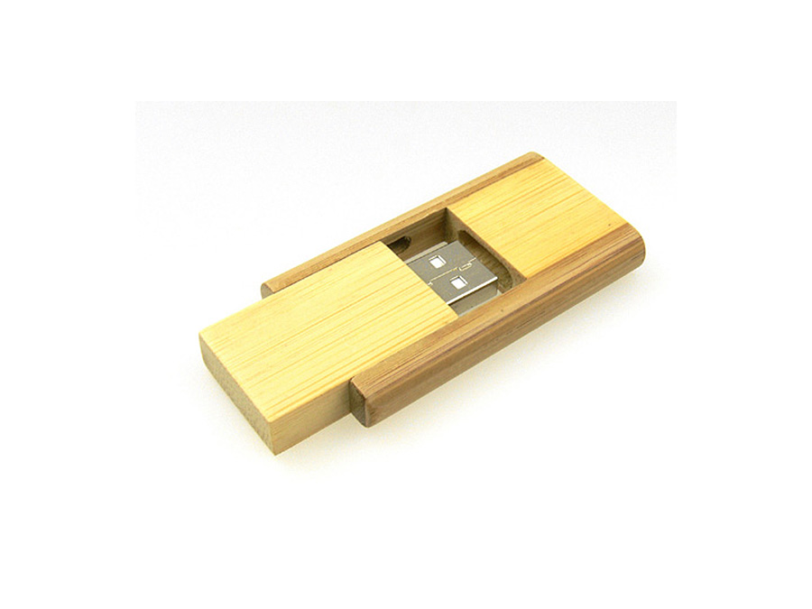 Holz USB Stick mit Logo oder Gravur nachhaltig