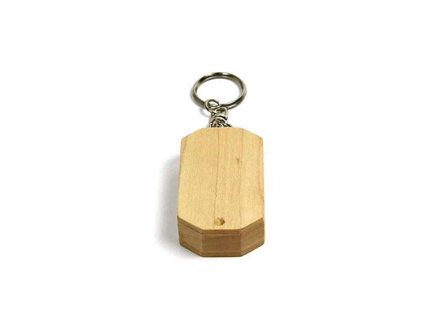 Drehbarer Holz USB-Stick