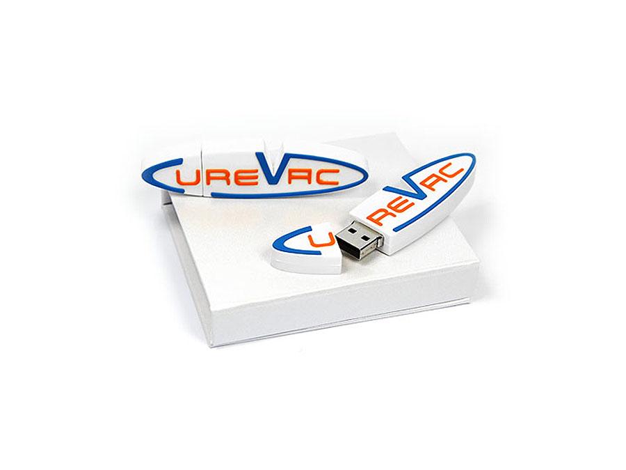 Curevac Custom USB-Stick PVC