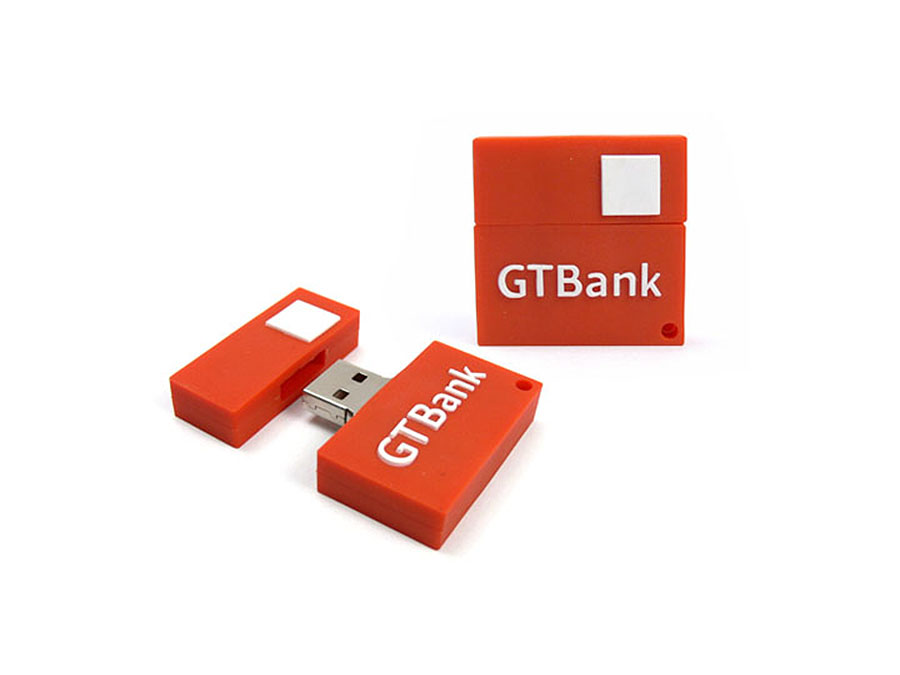 Individuelles USB-Stick in der Form eines Logos