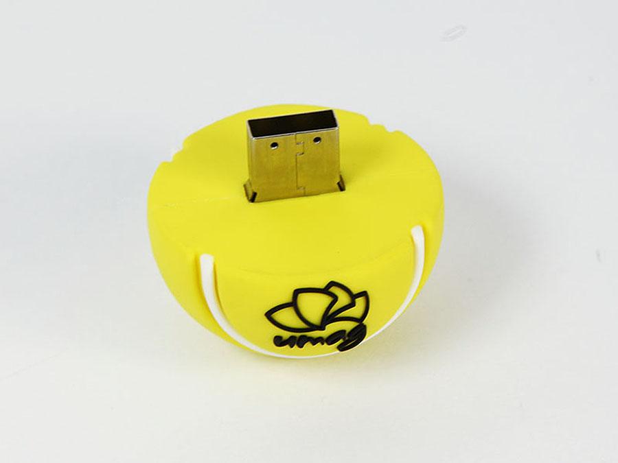 Individueller Tennsball USB-Stick mit Logo