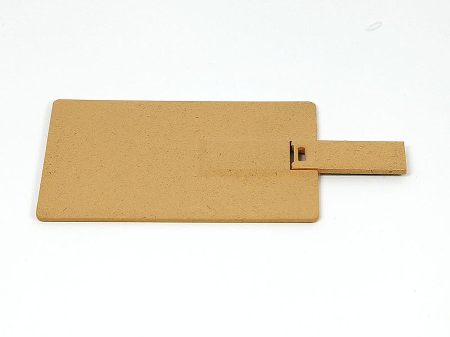 Kleine und flache USB-Stick Karte mit Logo bedruckt