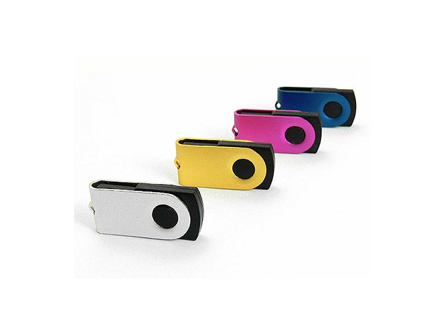 Kleiner Nano Mono USB-Stick in vielen Farben