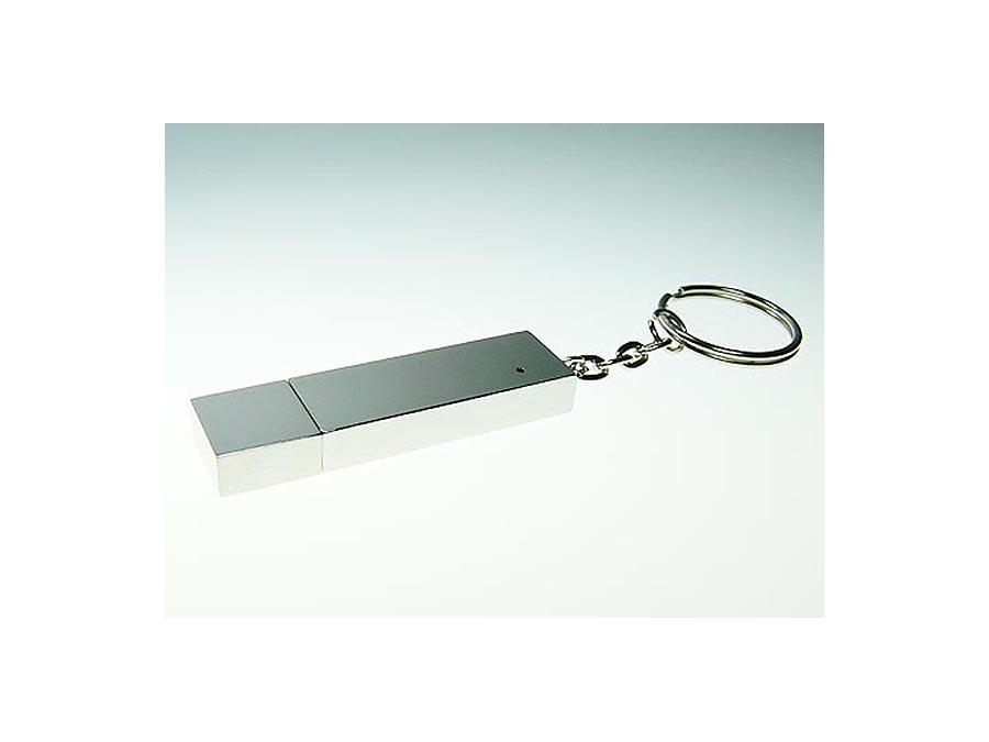 komplett verchromter USB-Stick aus Metall