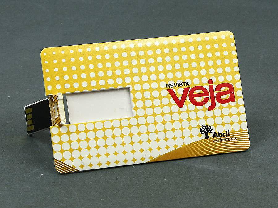 Komplett vollfächig bedruckte USB Stick visitenkarte