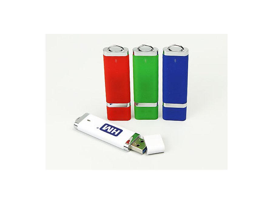 Kunststoff.02 USB-Stick in verschiedenen Farben