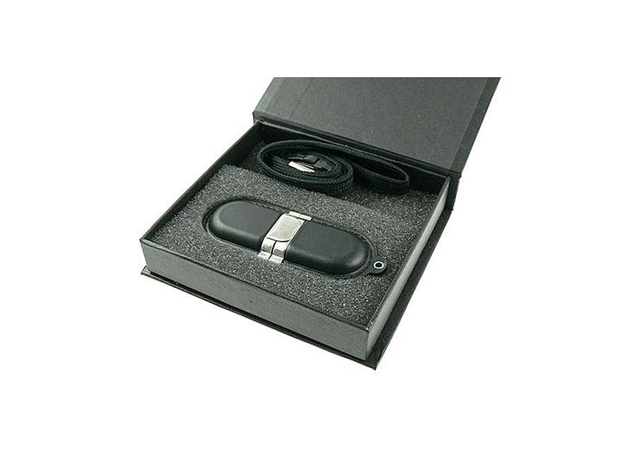 LEDER USB STICK mit Lederprägung für Reseller Werbegeschenke
