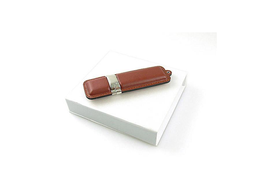 Leder USB-Stick mit Logoprägung für Reseller