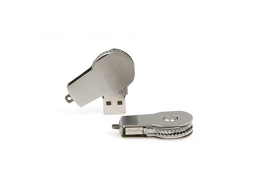 Metall USB-Stick mit Bügel zum drehen