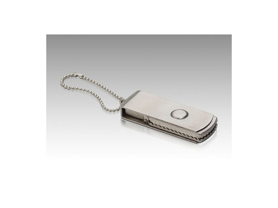 Metall USB-Stick mit Drehgelenk als Messegeschenk
