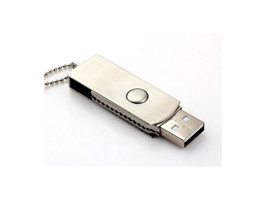 Vollmetall USB-Stick mit Drehgelenk für Reseller