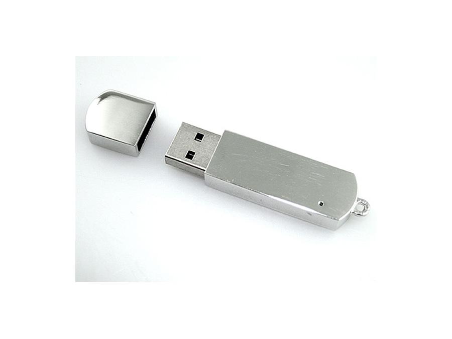 Edler Vollmetall USB Stick zum gravieren mit eigenem Logo zum Wiederverkauf