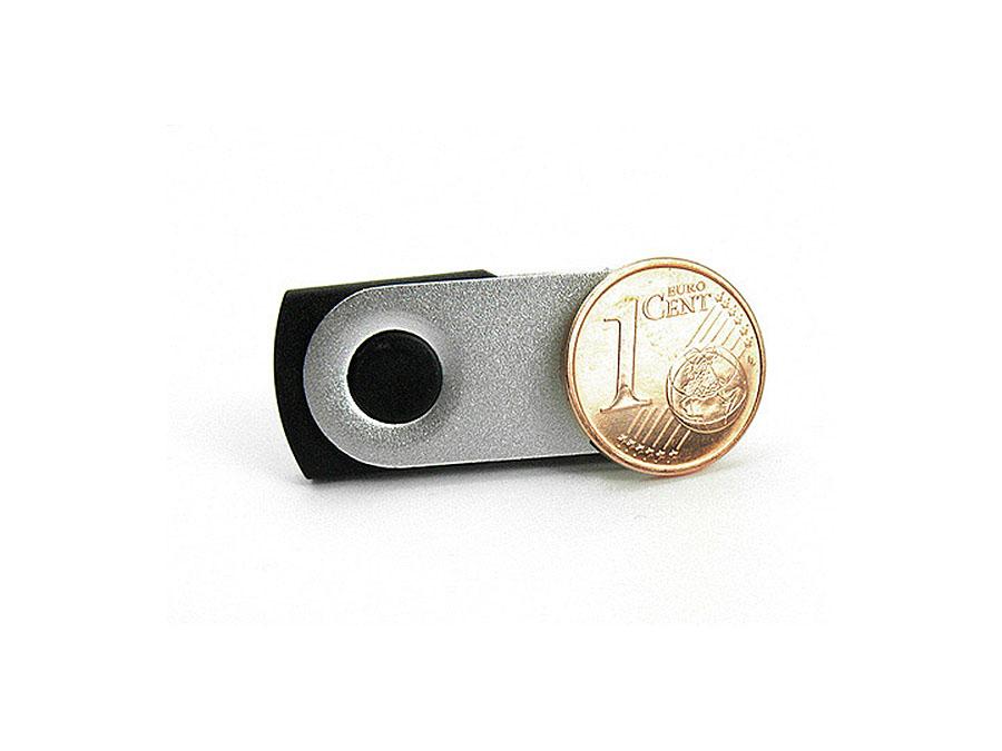Mini Twister USB-Stick mit Bügel