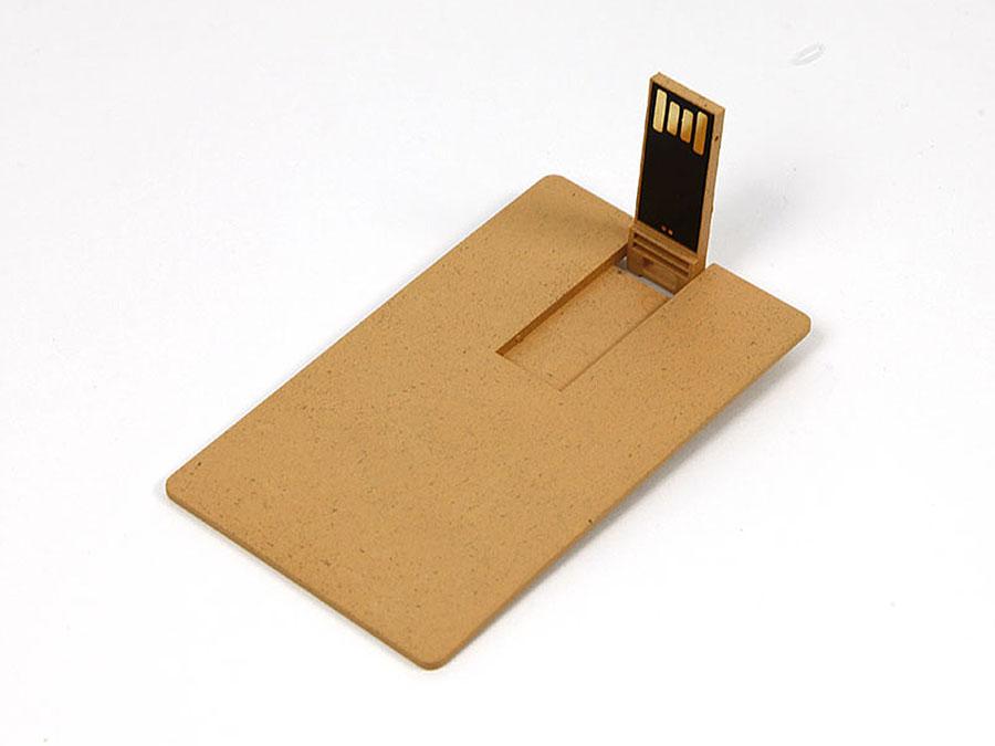 Mini USB-Stick Karte in flachem Format