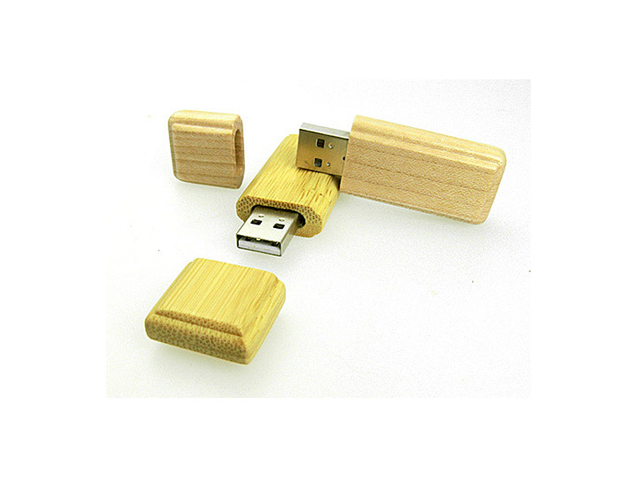 Ökologische Werbeartikel USB-Sticks aus Holz