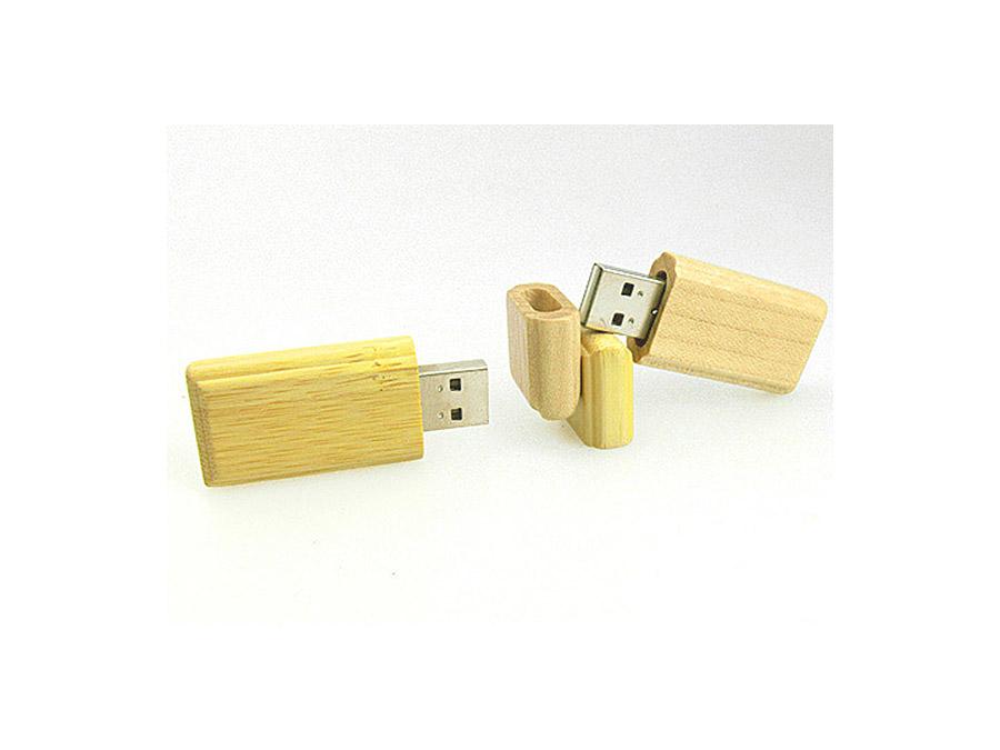 ökologischer und umweltfreundlicher USB-Stick aus Holz
